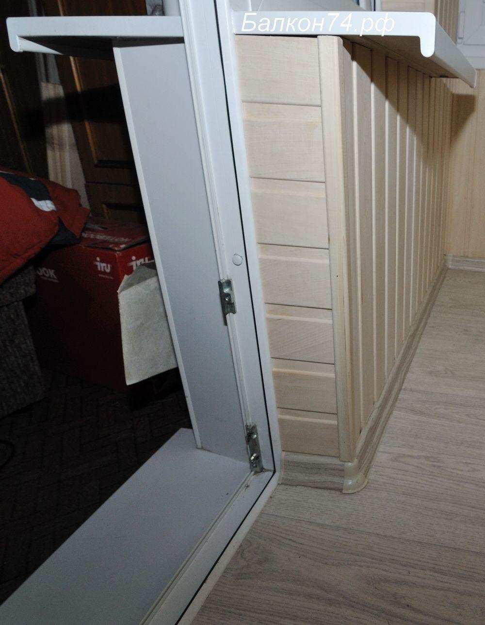 Балкон-вагонка липа,шкаф..