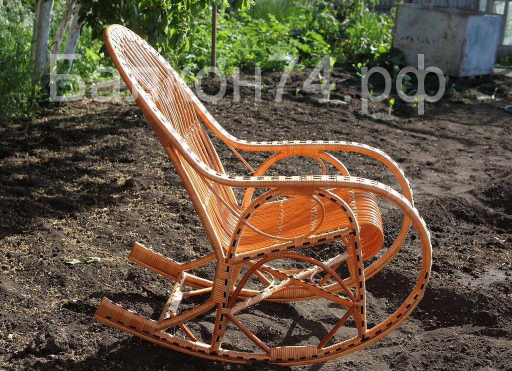 Кресла качалка своими руками из лозы 320