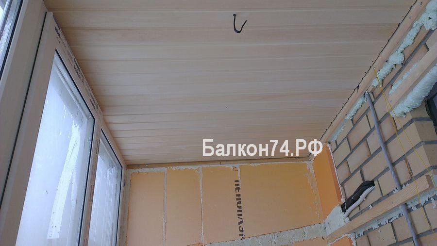 отделка крыши балкона