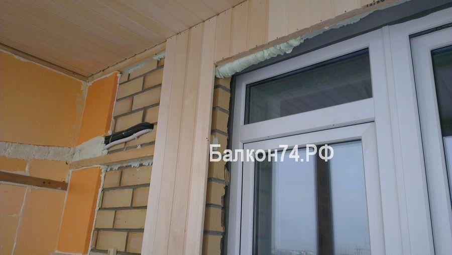 Монтаж проводки на балконе - 1553fm.ru.