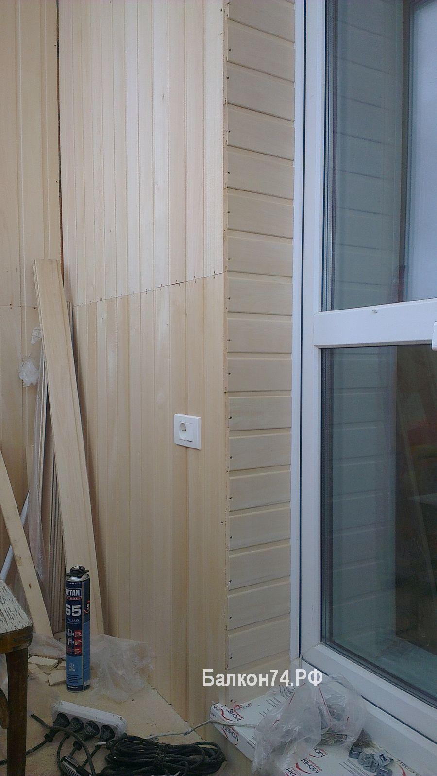 инструкция отделки балкона